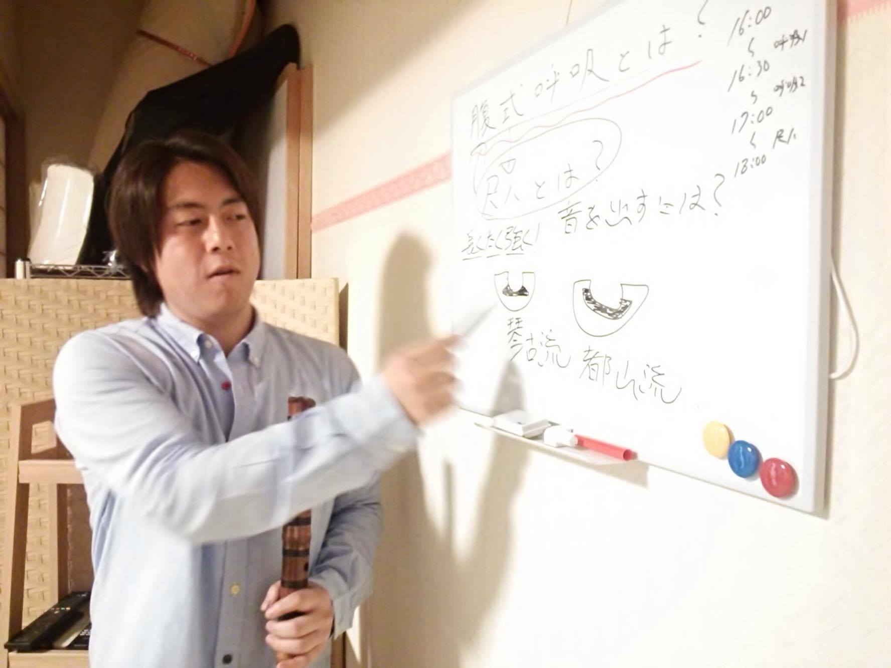 尺八セミナーin板橋スタジオNY開催報告